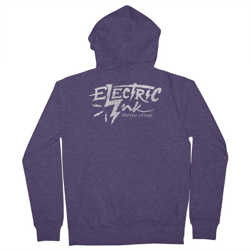 Electric Ink Men's Zip-Up Hoody by caseybooth's Artist Shop