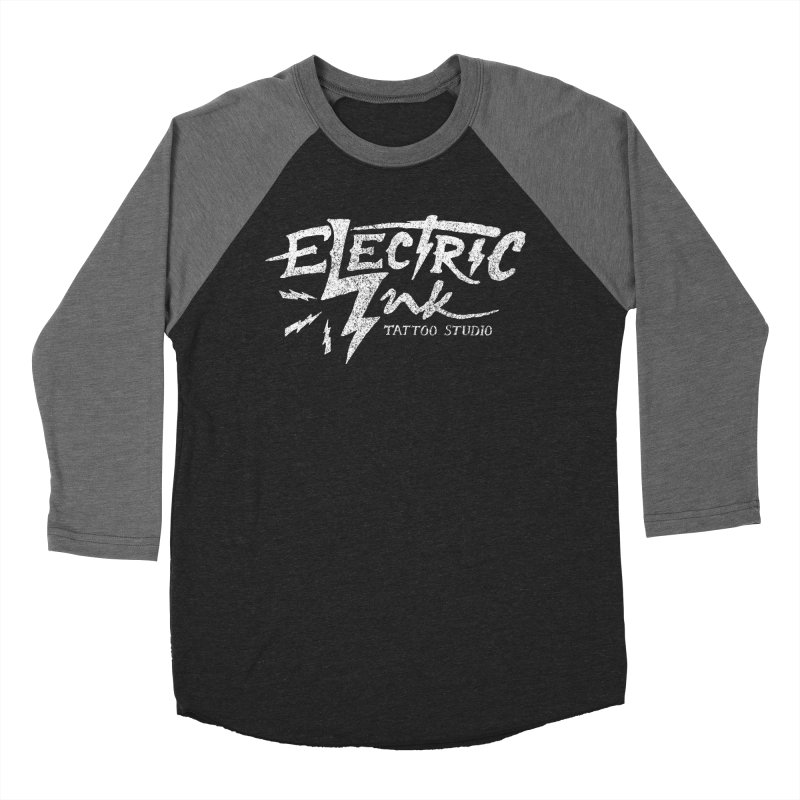 Electric Ink Men's Baseball Triblend T-Shirt by caseybooth's Artist Shop