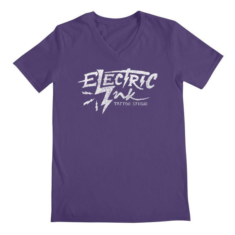 Electric Ink Men's V-Neck by caseybooth's Artist Shop