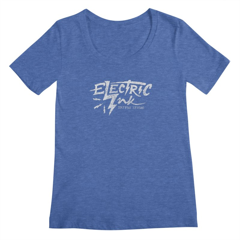 Electric Ink Women's Scoopneck by caseybooth's Artist Shop