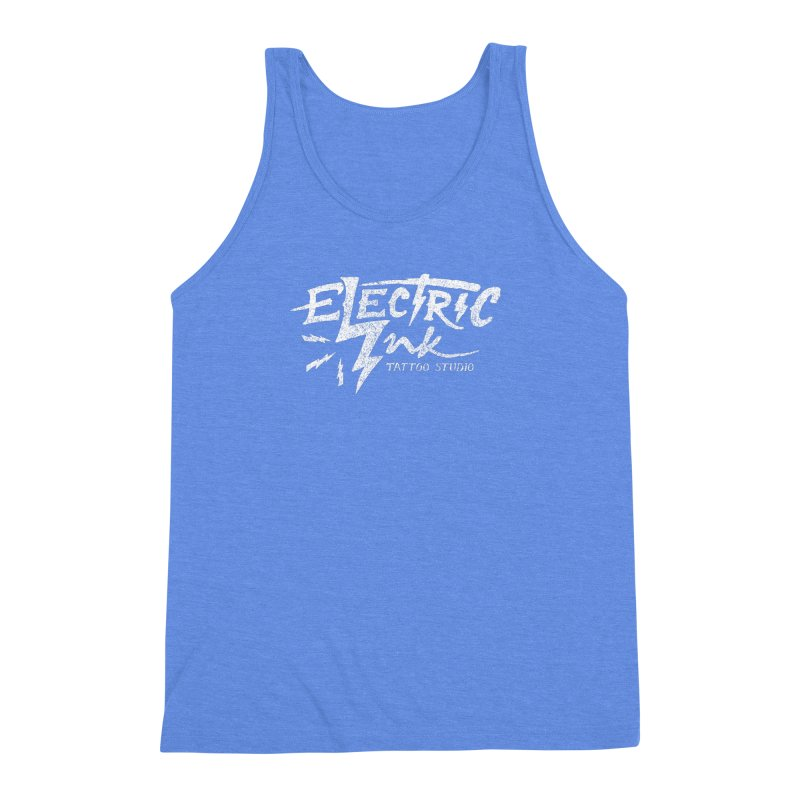 Electric Ink Men's Triblend Tank by caseybooth's Artist Shop