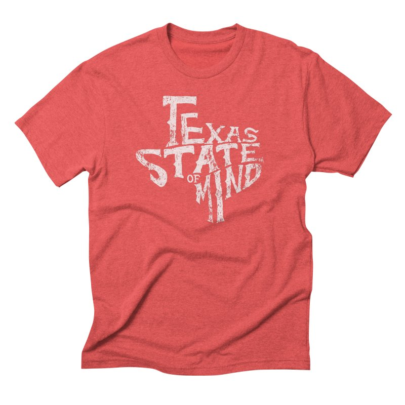 Texas State of Mind Men's Triblend T-Shirt by caseybooth's Artist Shop