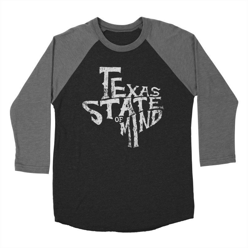 Texas State of Mind Men's Baseball Triblend T-Shirt by caseybooth's Artist Shop