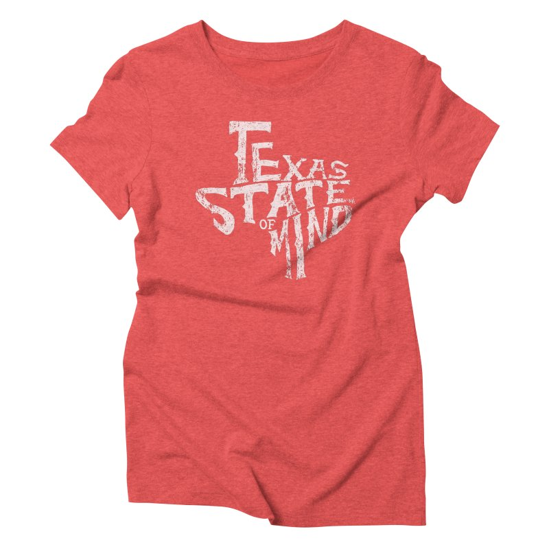 Texas State of Mind Women's Triblend T-shirt by caseybooth's Artist Shop
