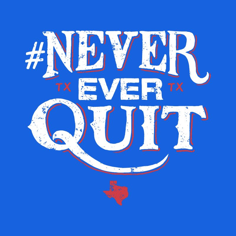 Never Ever Quit Men's Triblend T-shirt by caseybooth's Artist Shop