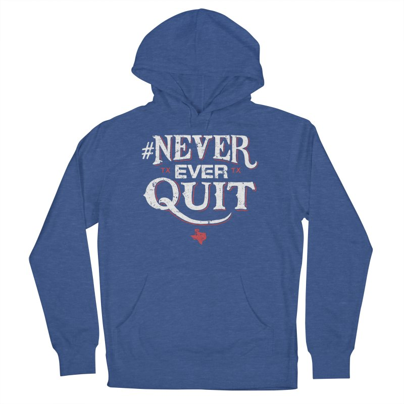 Never Ever Quit Men's Pullover Hoody by caseybooth's Artist Shop
