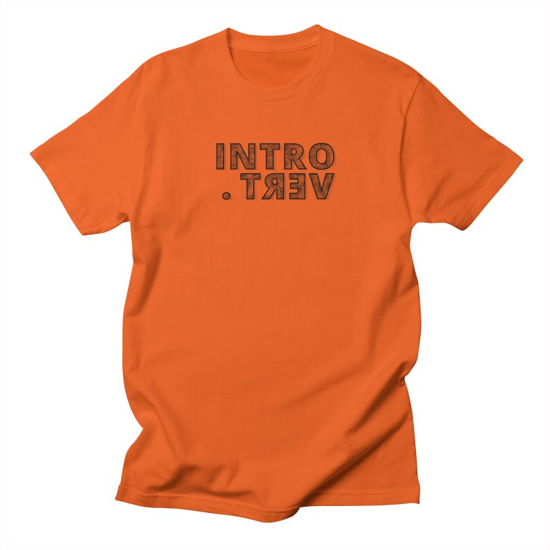 Introvert Women's T-Shirt by Original hand lettered apparel