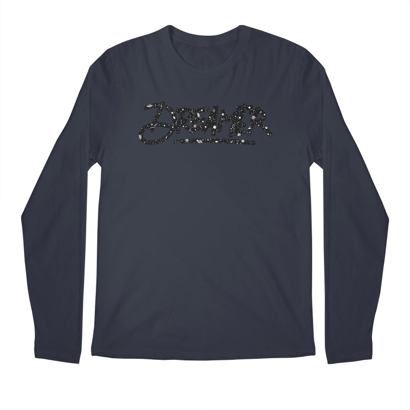 Dreamer Men's Longsleeve T-Shirt by Original hand lettered apparel