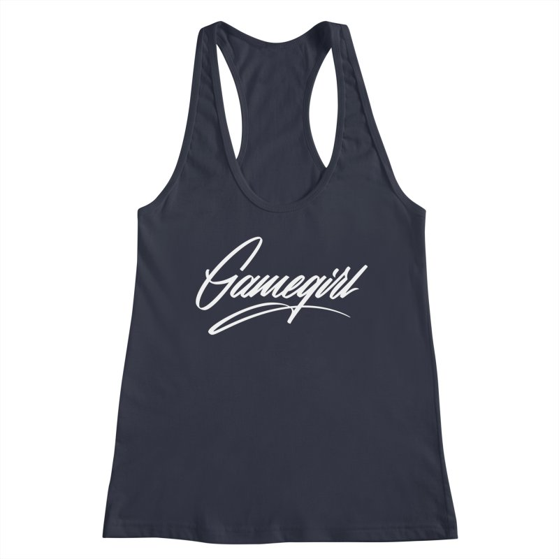 GAMEGIRL Women's Tank by Original hand lettered apparel