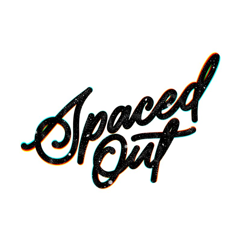 Spaced out Women's Scoop Neck by Original hand lettered apparel