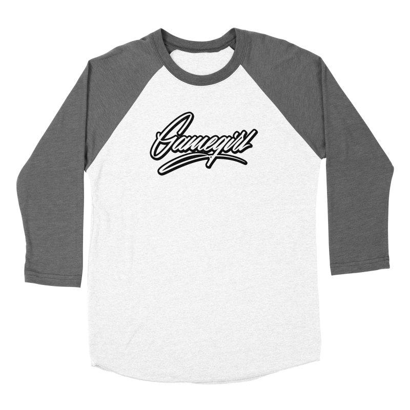 GameGirl Outlined Women's Longsleeve T-Shirt by Original hand lettered apparel