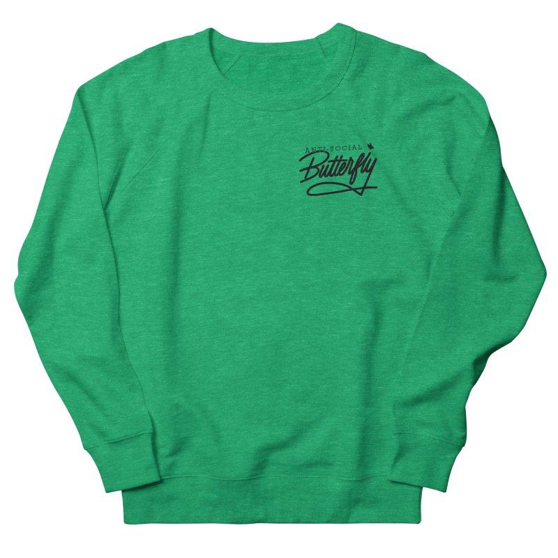 Anti-Social Butterfly Women's Sweatshirt by Original hand lettered apparel
