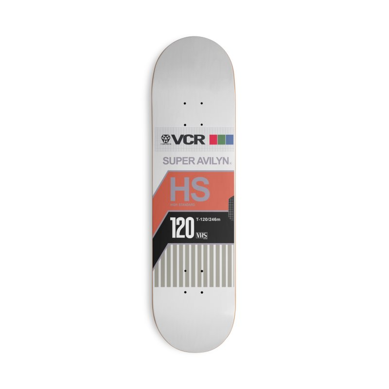 Blank VHS Tape 2 Accessories Skateboard by CASINOSKUNK PRODUCTIONS