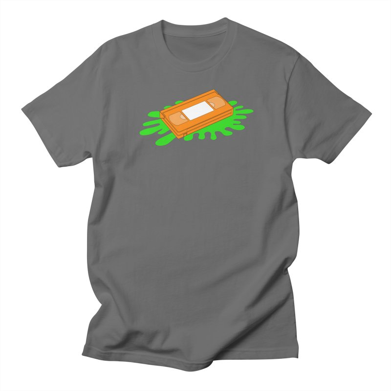 VHS Slime Men's T-Shirt by CASINOSKUNK PRODUCTIONS