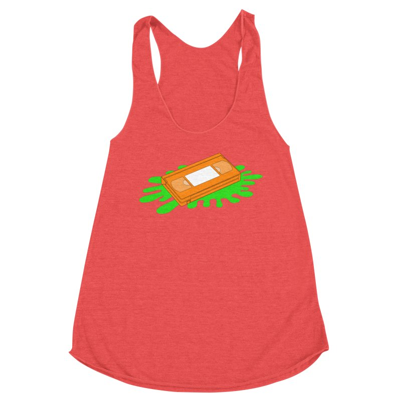 VHS Slime Women's Tank by CASINOSKUNK PRODUCTIONS