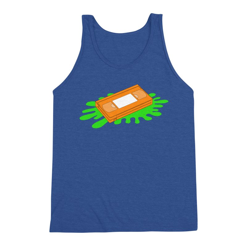 VHS Slime Men's Tank by CASINOSKUNK PRODUCTIONS