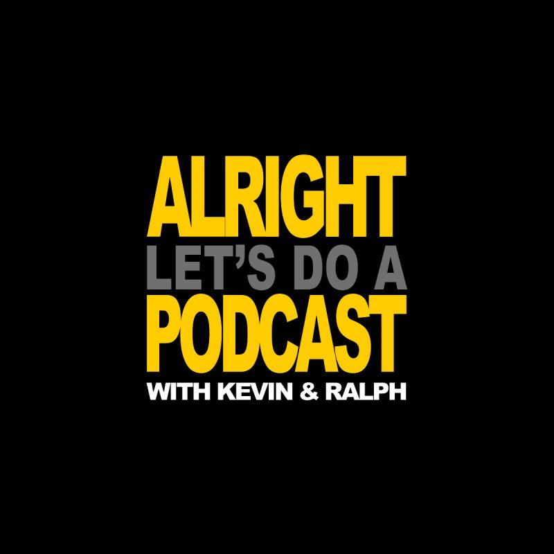 Alright Podcast Logo Men's Sweatshirt by CASINOSKUNK PRODUCTIONS