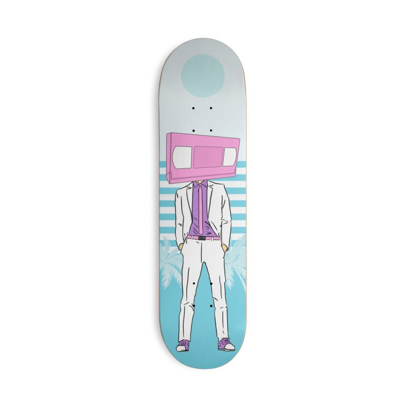 "VHS Dude ""Casual Dude"" Accessories Skateboard by CASINOSKUNK PRODUCTIONS"