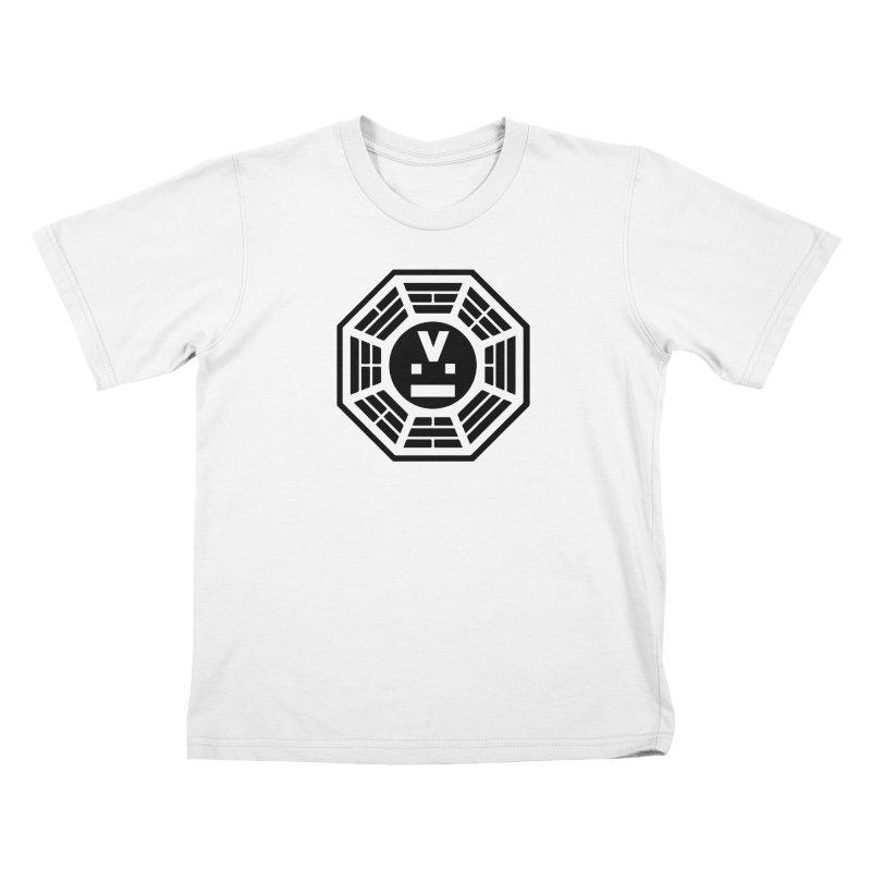 "Dharmalars Logo ""Black"" Kids T-Shirt by CASINOSKUNK PRODUCTIONS"