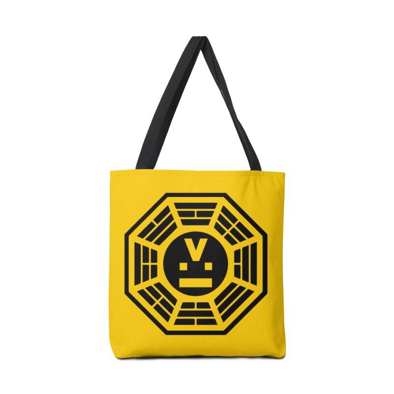 "Dharmalars Logo ""Black"" Accessories Bag by CASINOSKUNK PRODUCTIONS"