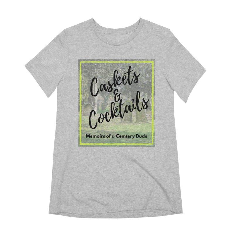 Podcast Art Women's Extra Soft T-Shirt by casketsandcocktails's Artist Shop