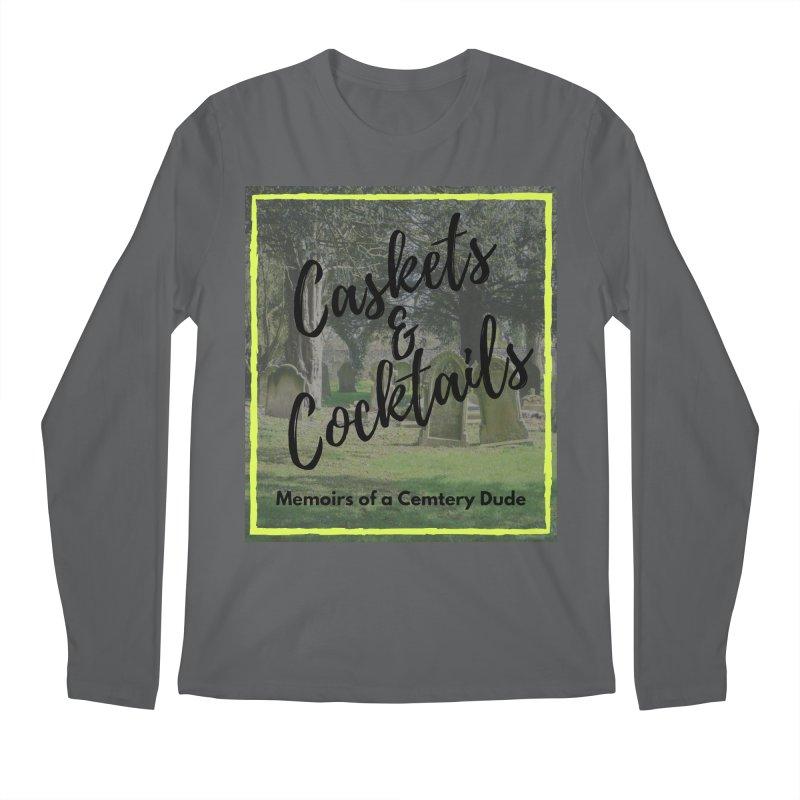 Podcast Art Men's Regular Longsleeve T-Shirt by casketsandcocktails's Artist Shop