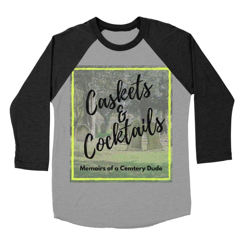 Podcast Art Men's Baseball Triblend Longsleeve T-Shirt by casketsandcocktails's Artist Shop