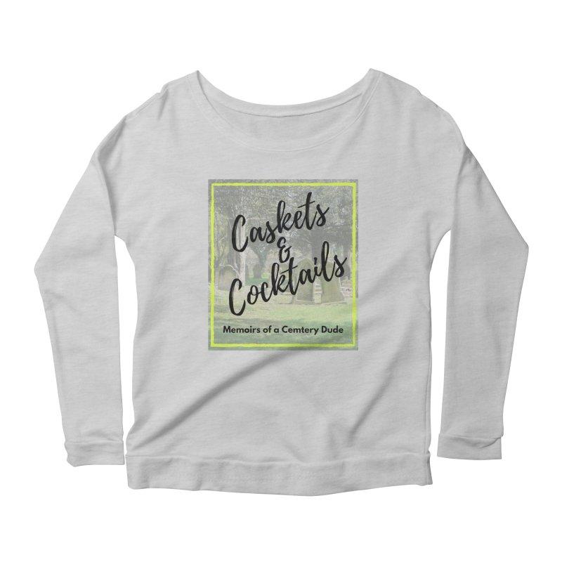 Podcast Art Women's Scoop Neck Longsleeve T-Shirt by casketsandcocktails's Artist Shop