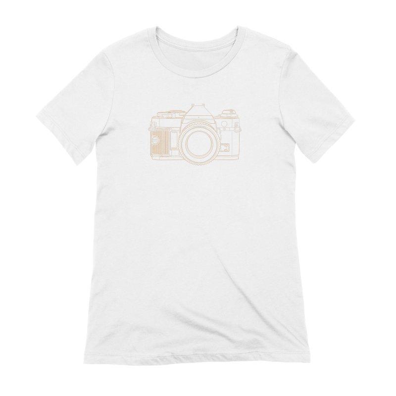 Canon AE1 Program Women's Extra Soft T-Shirt by RE Casper Studio