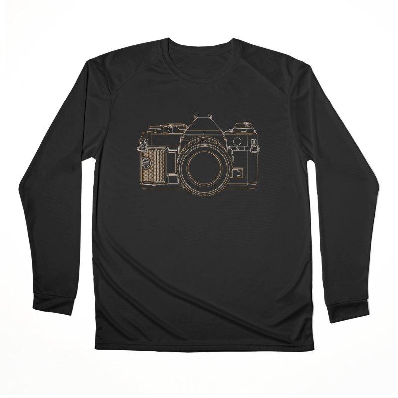 Canon AE1 Program Women's Performance Unisex Longsleeve T-Shirt by RE Casper Studio