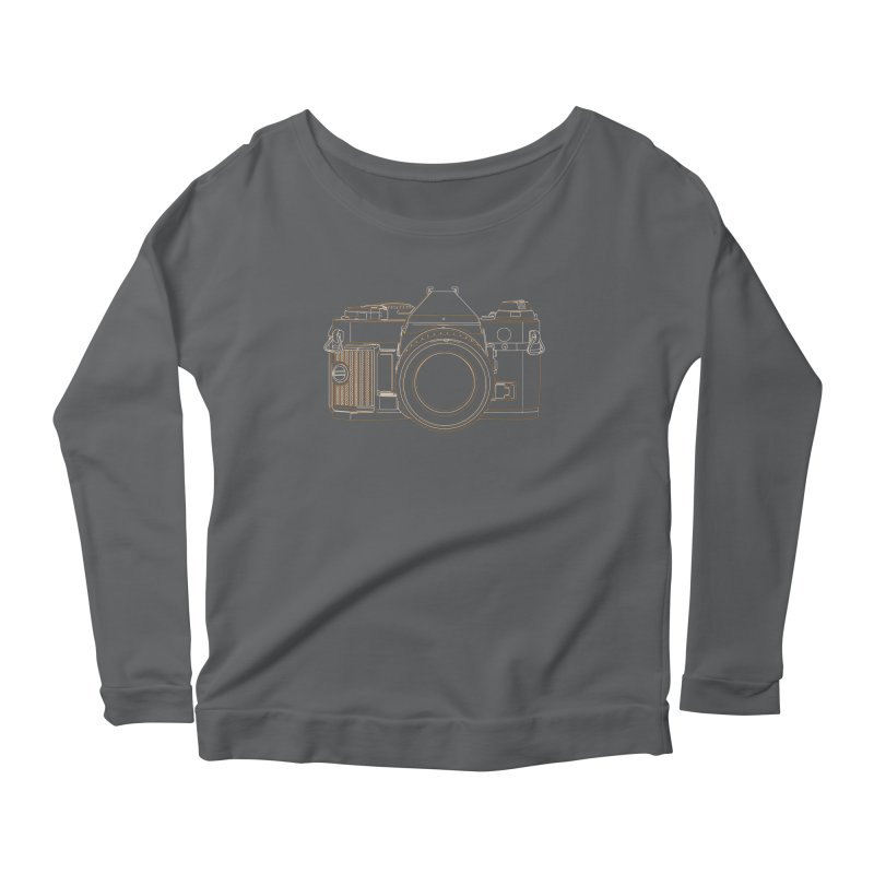 Canon AE1 Program Women's Longsleeve T-Shirt by RE Casper Studio