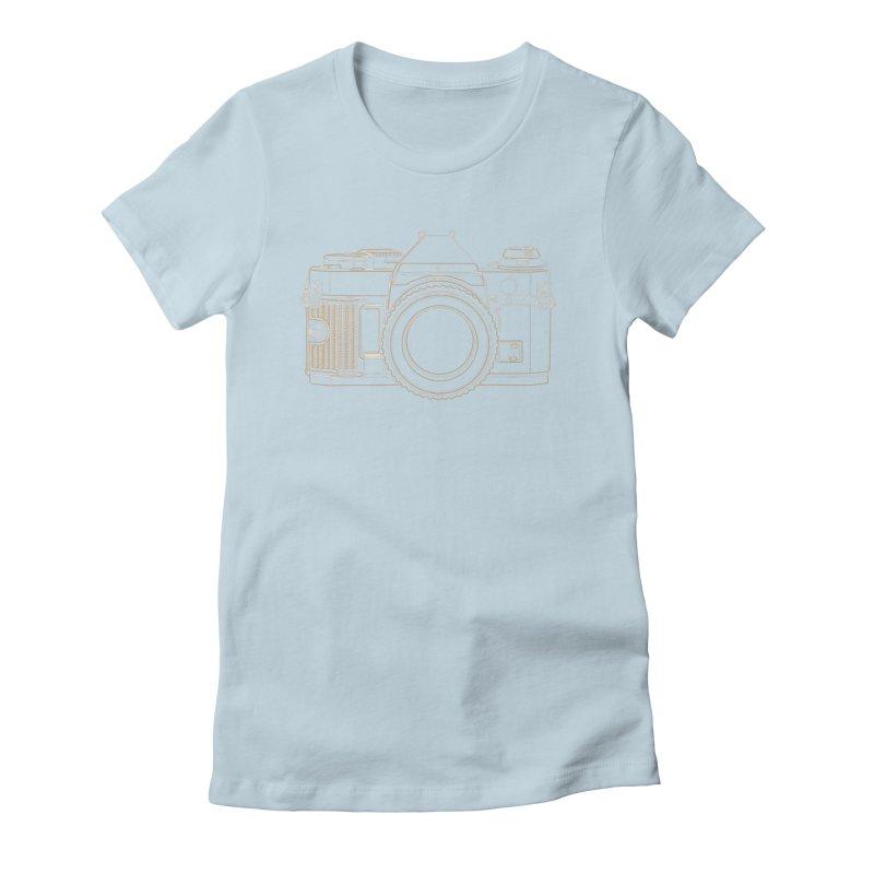 Canon AE1 Program Women's T-Shirt by RE Casper Studio