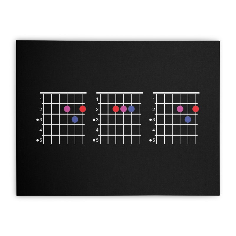 Dad Chord Home Stretched Canvas by RE Casper Studio