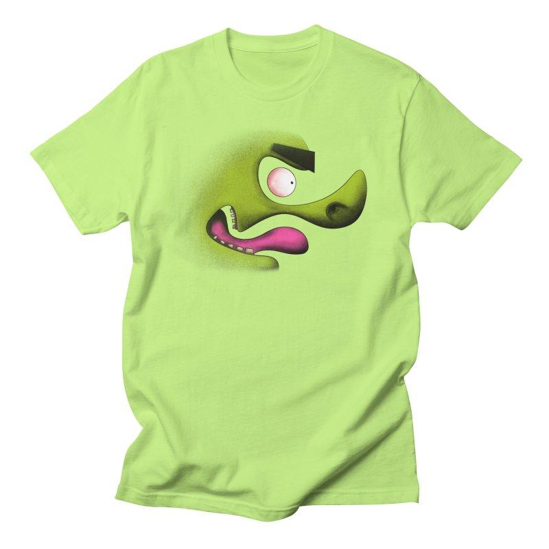 Green Hog Men's T-Shirt by RE Casper Studio