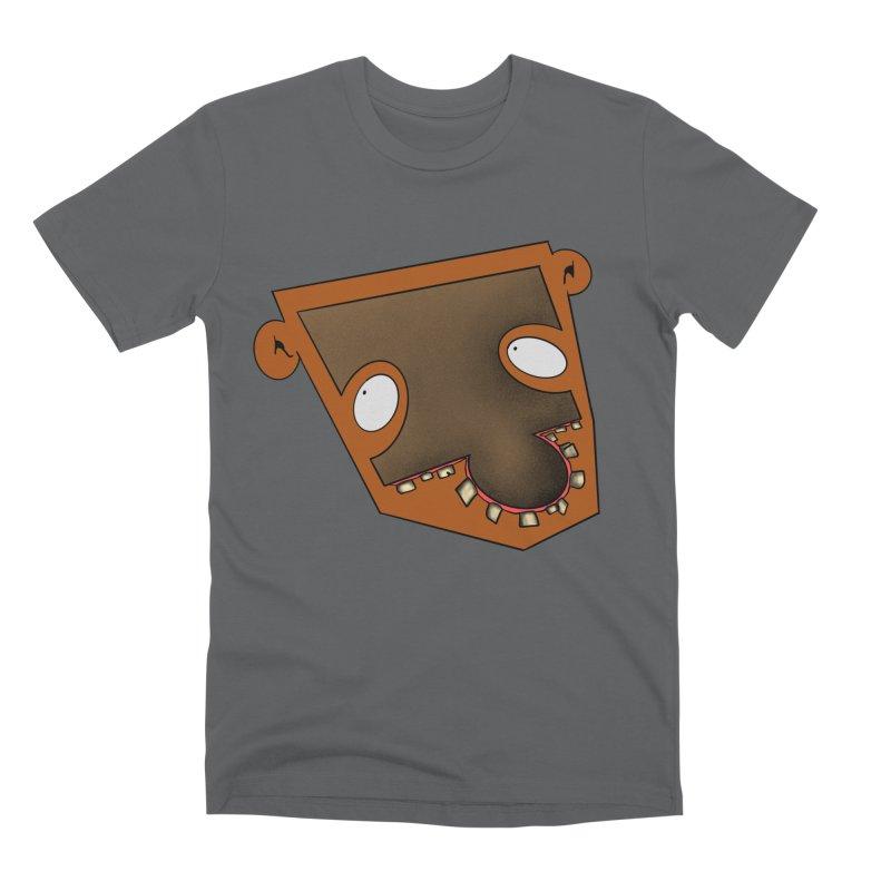 Puzzle Face Men's T-Shirt by RE Casper Studio
