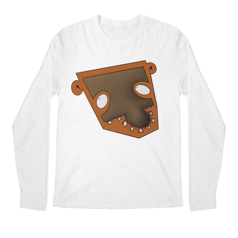 Puzzle Face Men's Longsleeve T-Shirt by RE Casper Studio