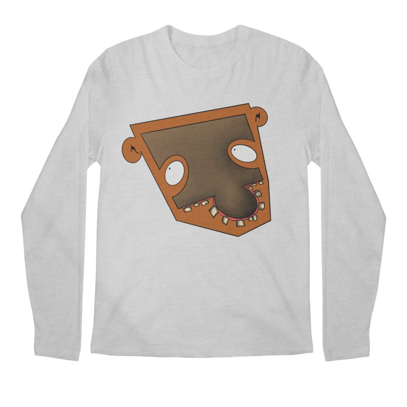 Puzzle Face Men's Longsleeve T-Shirt by RE Casper Studio
