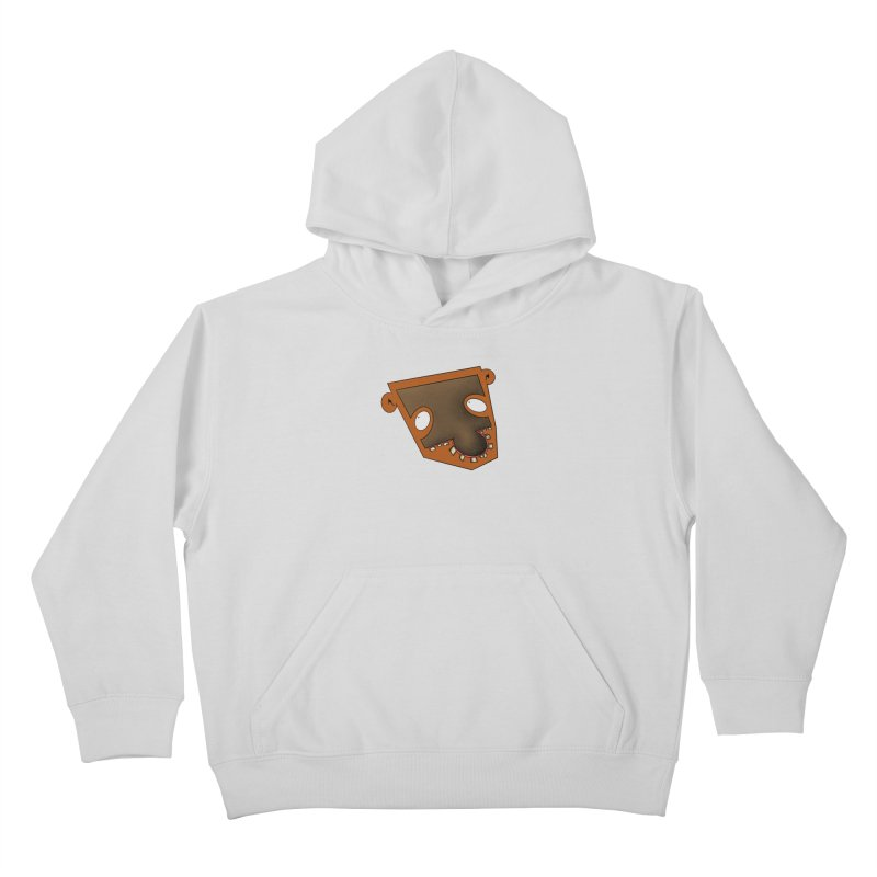 Puzzle Face Kids Pullover Hoody by RE Casper Studio