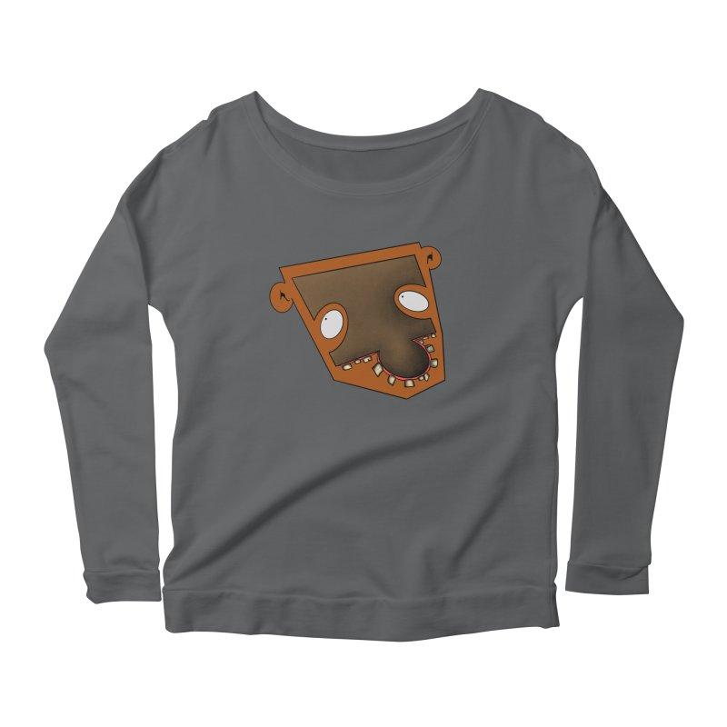 Puzzle Face Women's Longsleeve T-Shirt by RE Casper Studio