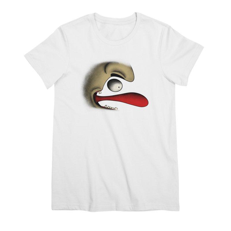 Tongue Face Women's T-Shirt by RE Casper Studio