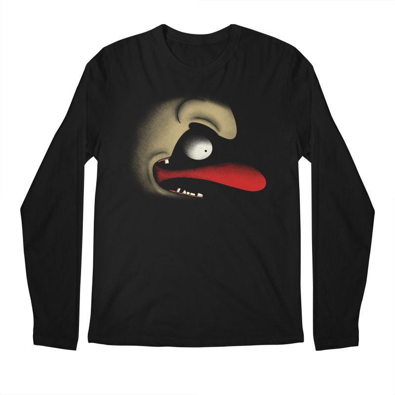 Tongue Face Men's Longsleeve T-Shirt by RE Casper Studio