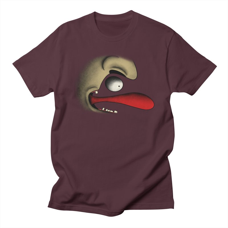Tongue Face Men's T-Shirt by RE Casper Studio