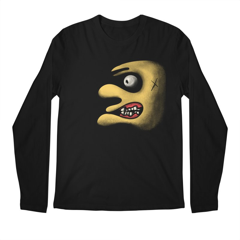 Angry Face Men's Longsleeve T-Shirt by RE Casper Studio