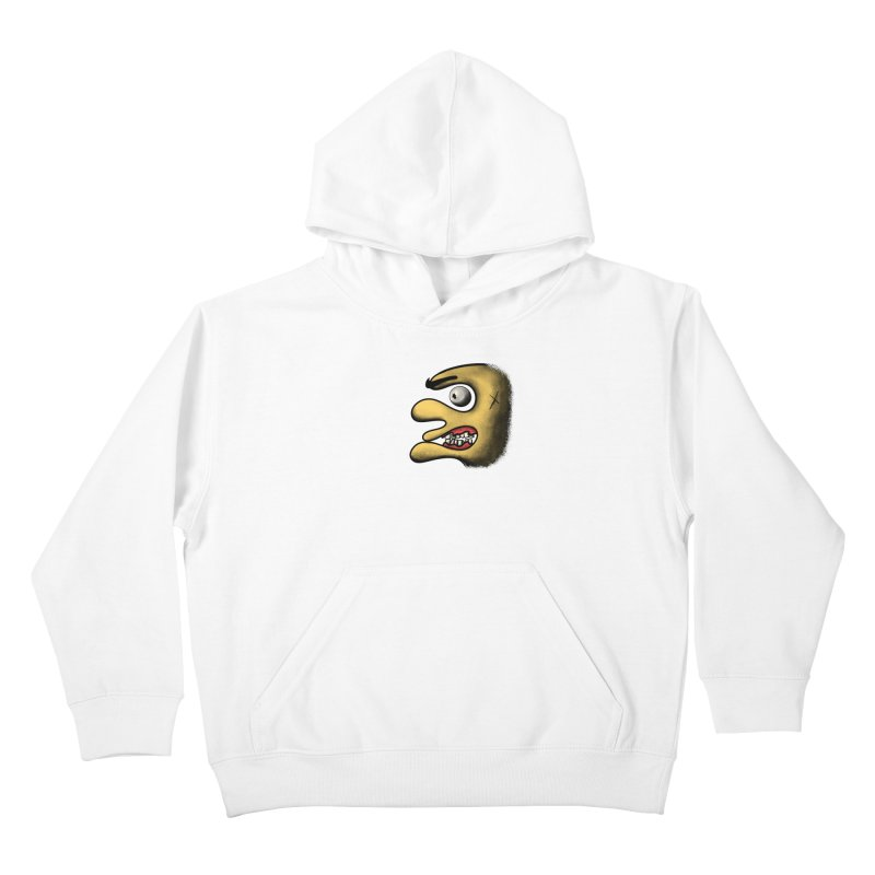 Angry Face Kids Pullover Hoody by RE Casper Studio