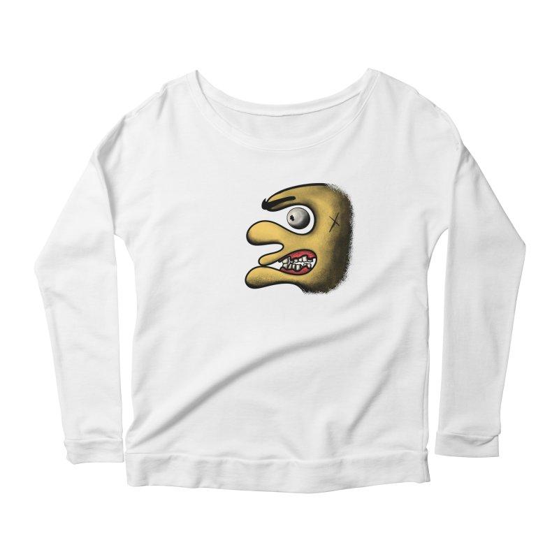 Angry Face Women's Longsleeve T-Shirt by RE Casper Studio