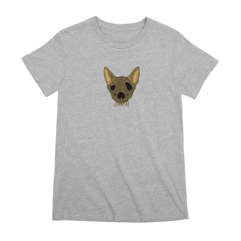 K9 Skull Women's T-Shirt by RE Casper Studio