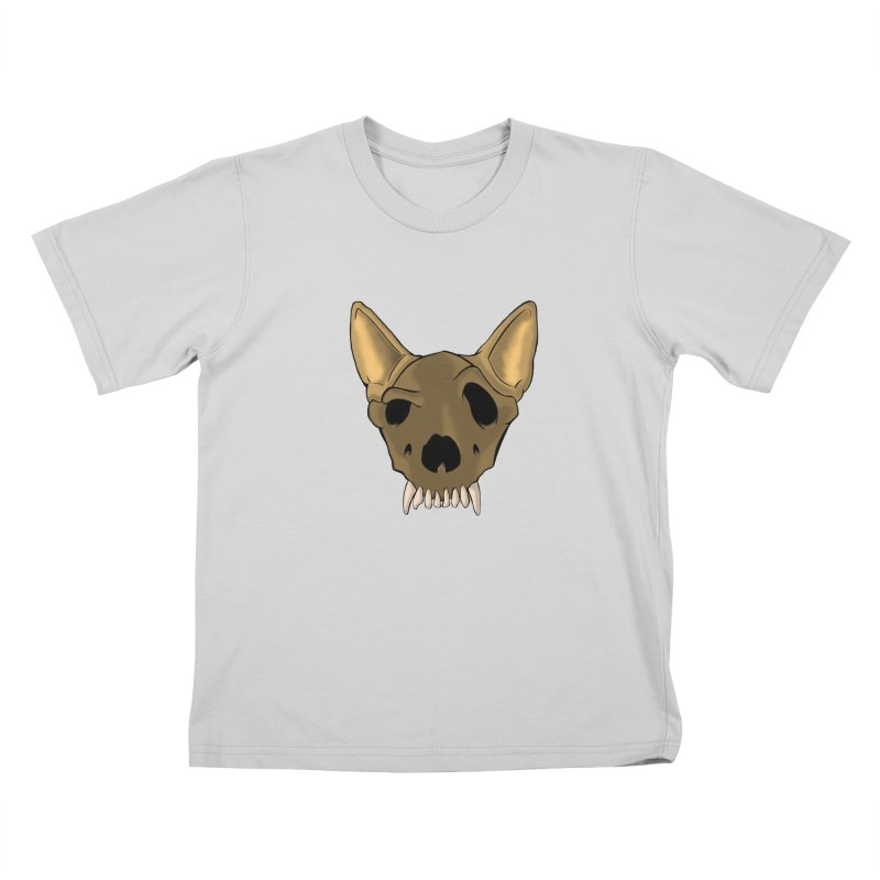 K9 Skull Kids T-Shirt by RE Casper Studio