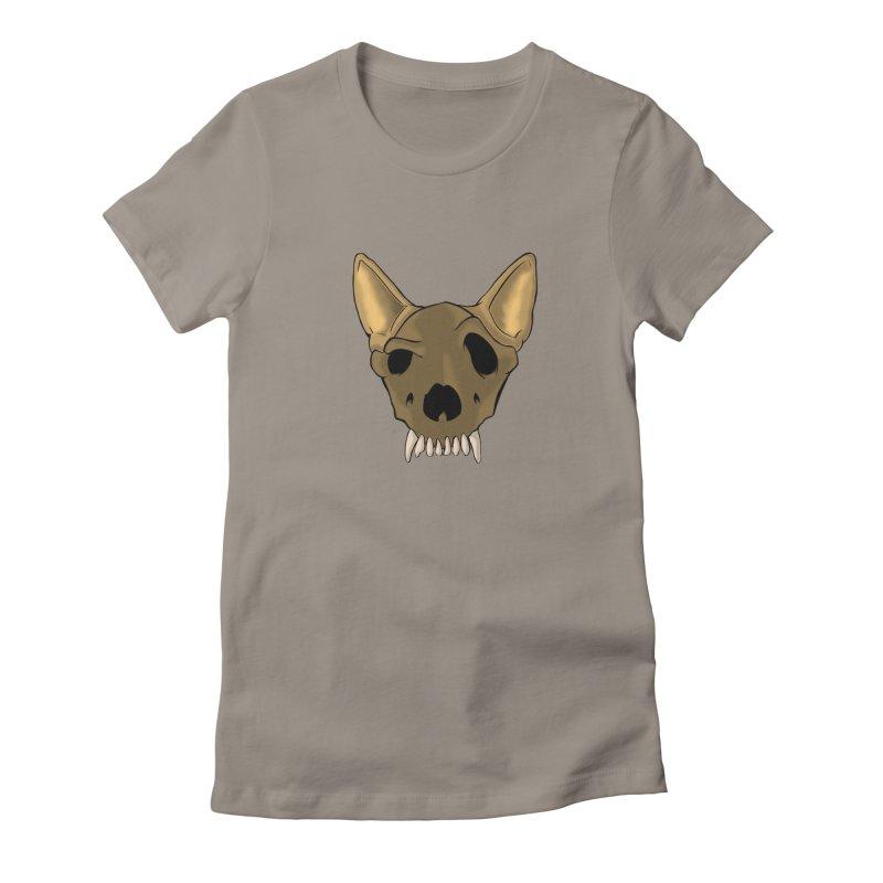 K9 Skull Women's T-Shirt by RE Casper Studio
