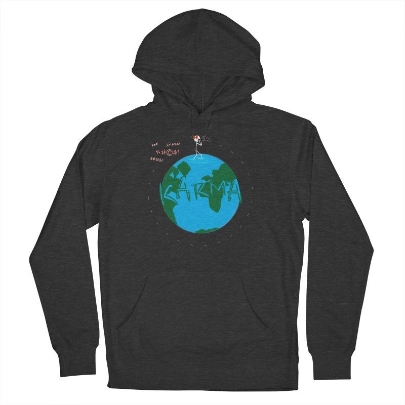 Karma Planet - Hate Men's Pullover Hoody by RE Casper Studio