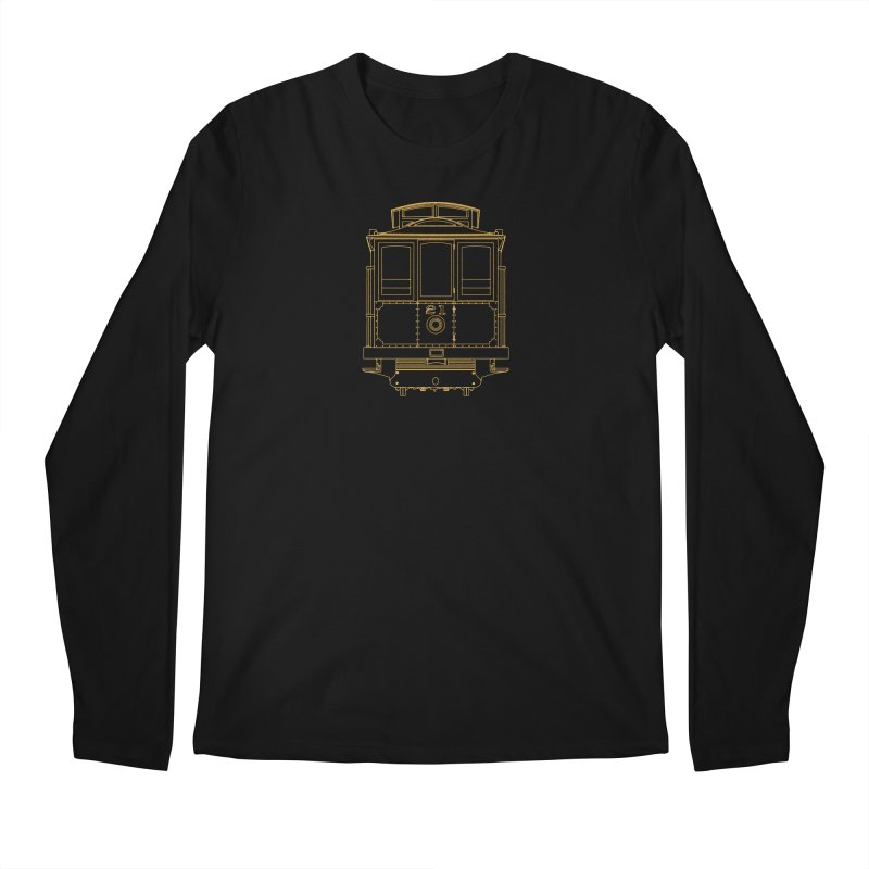 Cable Car #21 Men's Longsleeve T-Shirt by RE Casper Studio